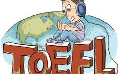 Pendaftaran Pelatihan Pengenalan TOEFL