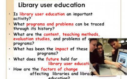 User Education Perpustakaan