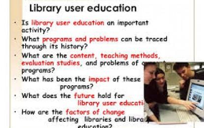 User Education Perpustakaan